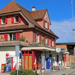 Schweizer-Eisenbahnen Bahnhof Siegershausen