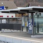 Schweizer-Eisenbahnen Bahnhof Saland