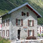 Schweizer-Eisenbahnen - Bahnhof Gletsch