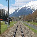 Schweizer-Eisenbahnen Bahnhof Davos Islen