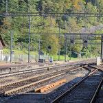 Schweizer-Eisenbahnen Bahnhof Amsteg-Silenen