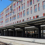 Schweizer-Eisenbahnen - Bahnhof Davos Dorf