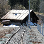Schweizer-Eisenbahnen Bahnhof Langwies