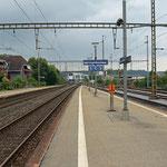 Schweizer-Eisenbahnen Bahnhof Herzogenbuchsee