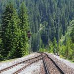 Schweizer-Eisenbahnen - Bahnhof Litzirüti