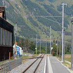 Schweizer-Eisenbahnen - Bahnhof Punt Muragl