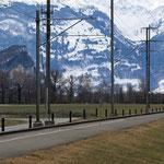 Schweizer-Eisenbahnen - Bahnhof Weite