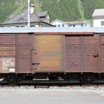 Schweizer Eisenbahnen RhB Güterwagen D2 - 4077
