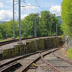 Schweizer-Eisenbahnen - Bahnhof Wienacht-Tobel