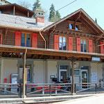 Schweizer-Eisenbahnen Bahnhof Finhaut
