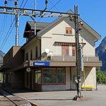 Schweizer-Eisenbahnen Bahnhof Wassen