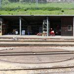 Schweizer-Eisenbahnen Bahnhof Poschiavo