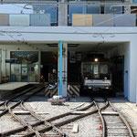 Schweizer-Eisenbahnen - Bahnhof Mürren