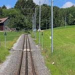 Schweizer-Eisenbahnen Bahnhof Warmesberg