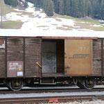 Schweizer Eisenbahnen RhB Güterwagen D2 - 4080