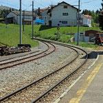 Schweizer-Eisenbahnen - Bahnhof La Cure