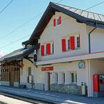 Schweizer-Eisenbahnen Bahnhof Sedrun