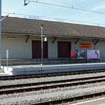 Schweizer-Eisenbahnen - Bahnhof Kreuzlingen Hafen
