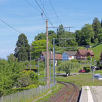 Schweizer-Eisenbahnen - Bahnhof Mannenbach-Salenstein