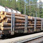 Schweizer-Eisenbahnen RhB Güterwagen Spg - 7603