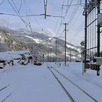 Schweizer-Eisenbahnen - Bahnhof Waltensburg / Vuorz