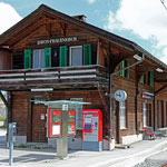 Schweizer-Eisenbahnen Bahnhof Davos Frauenkirch