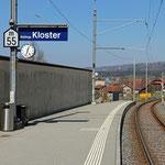 Schweizer-Eisenbahnen Bahnhof Baldegg Kloster