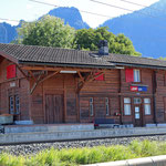 Schweizer-Eisenbahnen - Bahnhof Igis