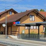 Schweizer-Eisenbahnen - Bahnhof Rikon
