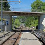 Schweizer-Eisenbahnen - Bahnhof Bussnang
