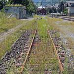 Schweizer-Eisenbahnen - Bahnhof Trun