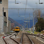 Schweizer-Eisenbahnen Bahnhof Netstal