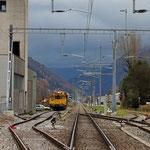 Schweizer-Eisenbahnen - Bahnhof Netstal