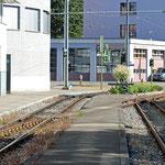 Schweizer-Eisenbahnen - Bahnhof Frauenfeld Marktplatz