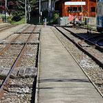 Schweizer-Eisenbahnen - Bahnhof Lenk im Simmental