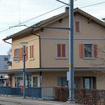 Schweizer-Eisenbahnen - Bahnhof Horn