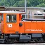 Schweizer-Eisenbahnen - Tm 2/2 * 113