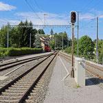 Schweizer-Eisenbahnen Bahnhof St. Gallen Haggen