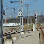 Schweizer-Eisenbahnen Bahnhof Baldegg