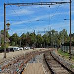 Schweizer-Eisenbahnen - Bahnhof Langendorf