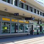Schweizer-Eisenbahnen - Bahnhof Chur