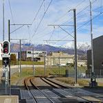 Schweizer-Eisenbahnen - Bahnhof Bioggio