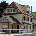 Schweizer-Eisenbahnen - Bahnhof Märwil