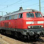 Dezember 2016: DB Diesellok 217. (Aufnahme vom Juli 2008).