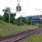 Schweizer-Eisenbahnen - Bahnhof Algetshausen-Henau