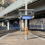 Schweizer-Eisenbahnen - Bahnhof Melide