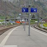 Schweizer-Eisenbahnen - Bahnhof Walenstadt