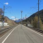 Schweizer-Eisenbahnen - Bahnhof Sagliains