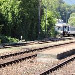 Schweizer-Eisenbahnen - Bahnhof Klus