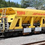 Schweizer-Eisenbahnen RhB Güterwagen Xac-t - 93805